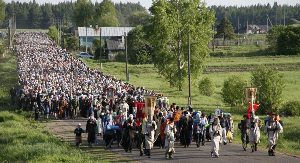 Около 70 тысяч верующих примут участие в Великорецком крестном ходе/ foma.ru