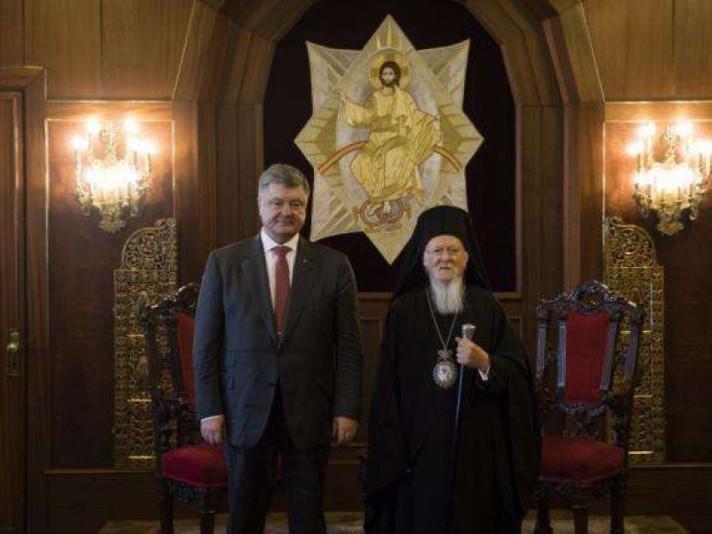 Источники в СМИ заявляют о возможности принятия неожиданного решенияпо вопросу церковной автокефалии в Украине / president.gov.ua