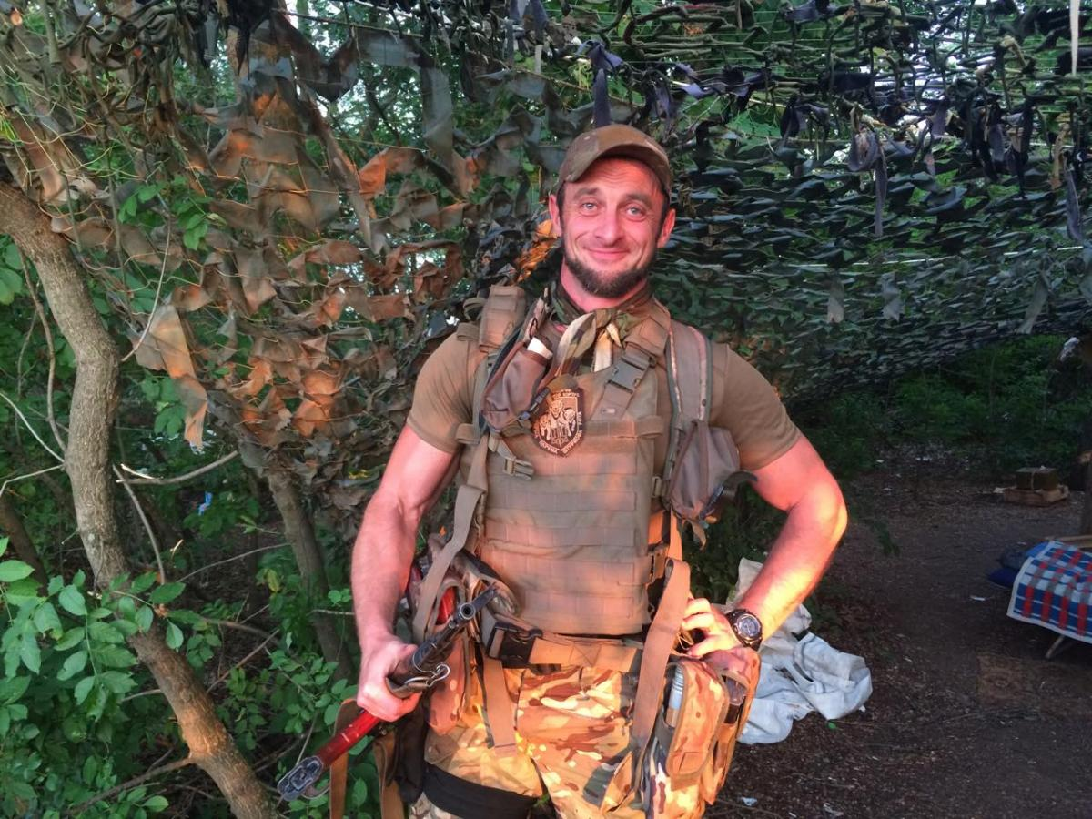 "Терорист ""Моторола""загинув у власному будинку / Facebook АндрейЦаплиенко"
