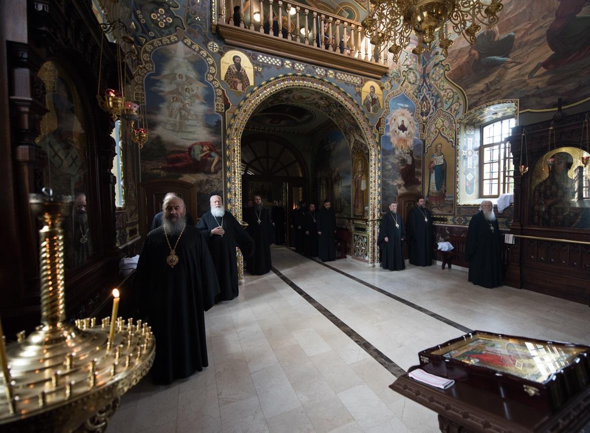 В Киево-Печерской лавре началась работа Священного Синода УПЦ / news.church.ua