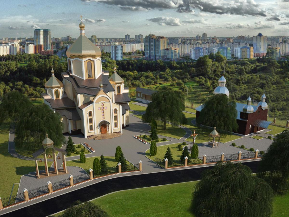 Макет недостроенного храма / 032.ua