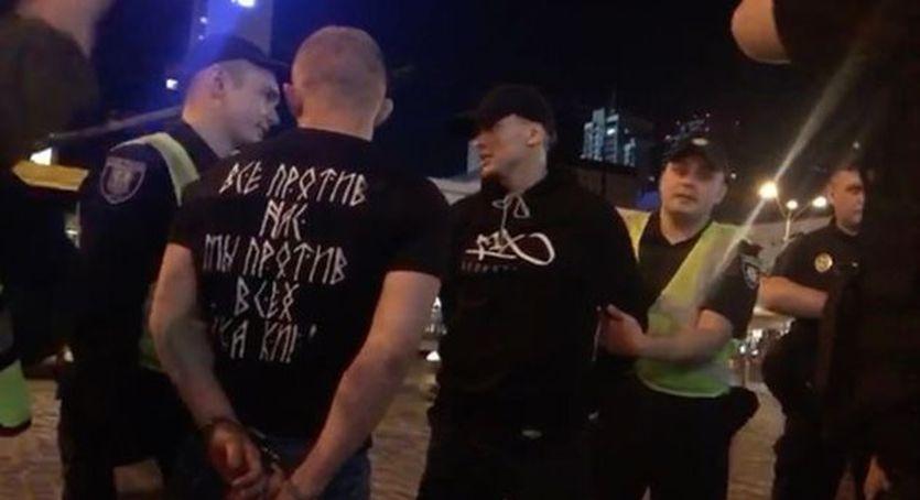 Украинскиеп хулиганы напали на болельщиков Ливерпуля / Daily Mirror