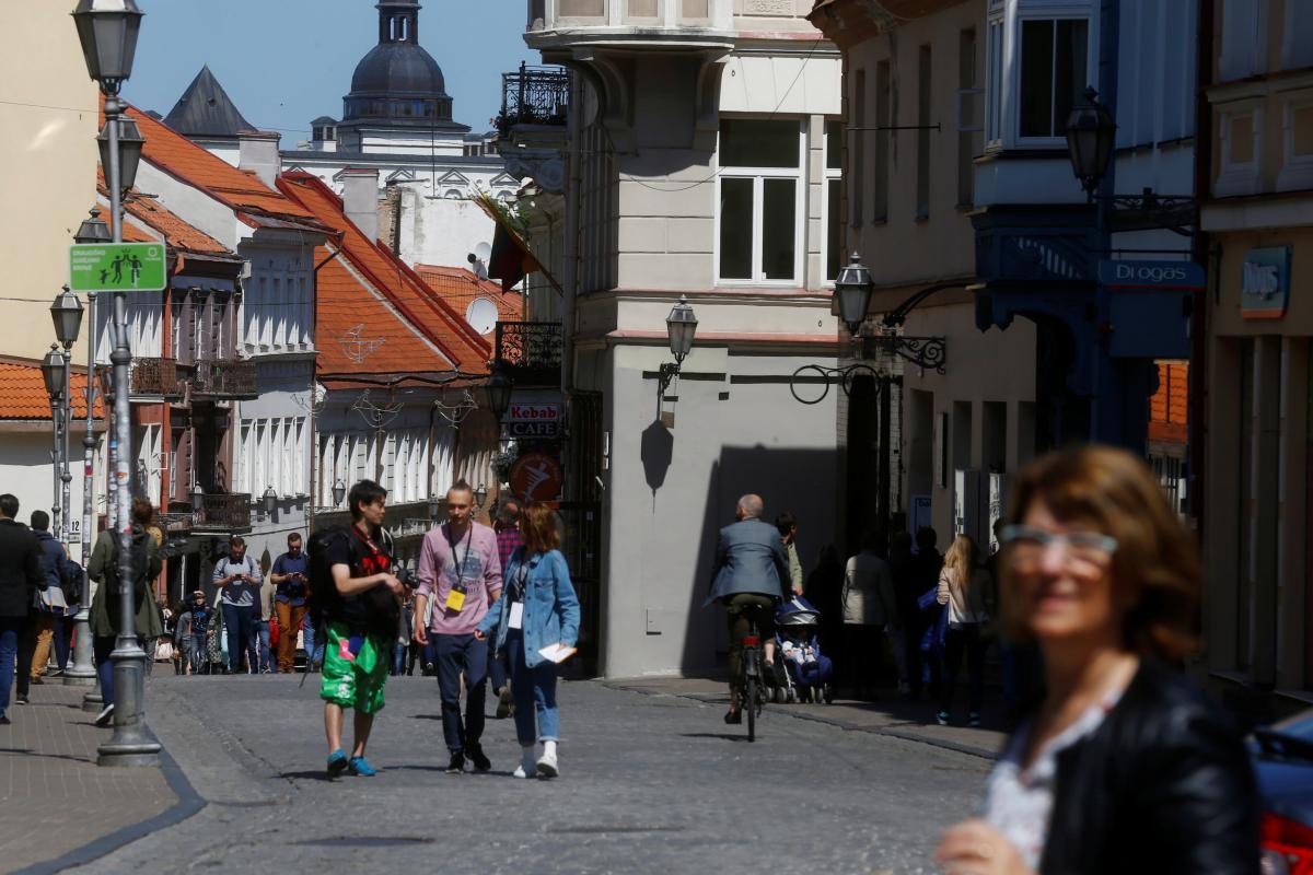 Улочки Старого города Вильнюса / Иллюстрация REUTERS