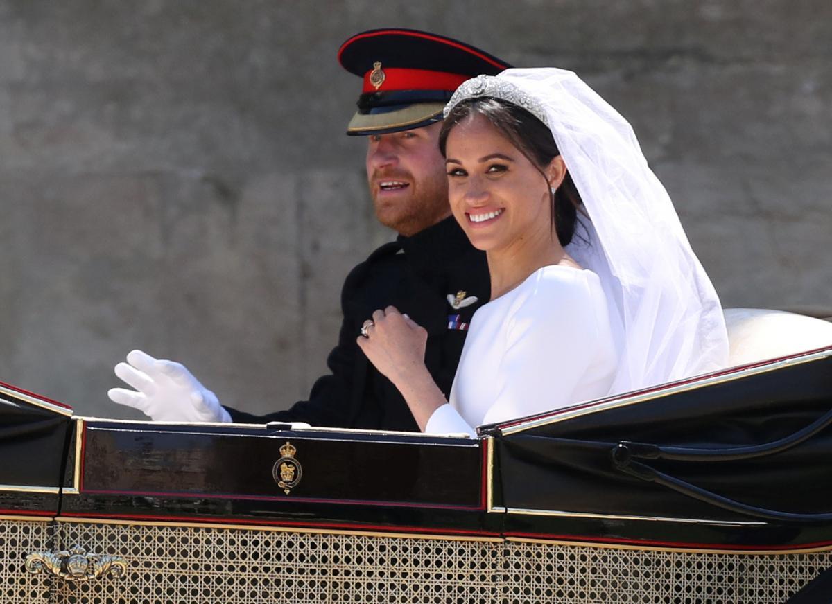 Меган Маркл и принц Гарри / REUTERS