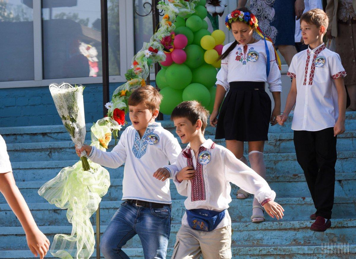 В Киеве последние звонки прозвучат 31 мая / фото УНИАН