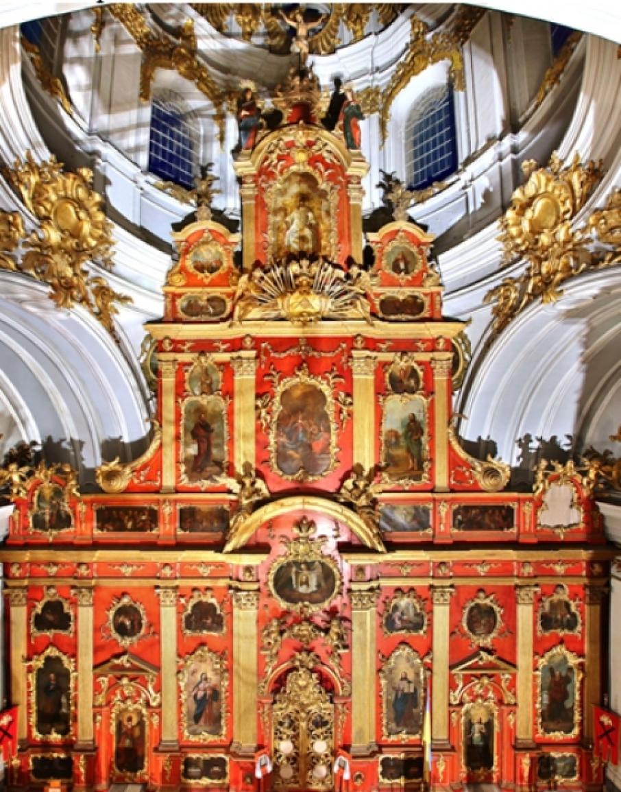 В Андреевской церкви завершили реставрацию двух икон XVIII века/ vechirniykiev.com.ua