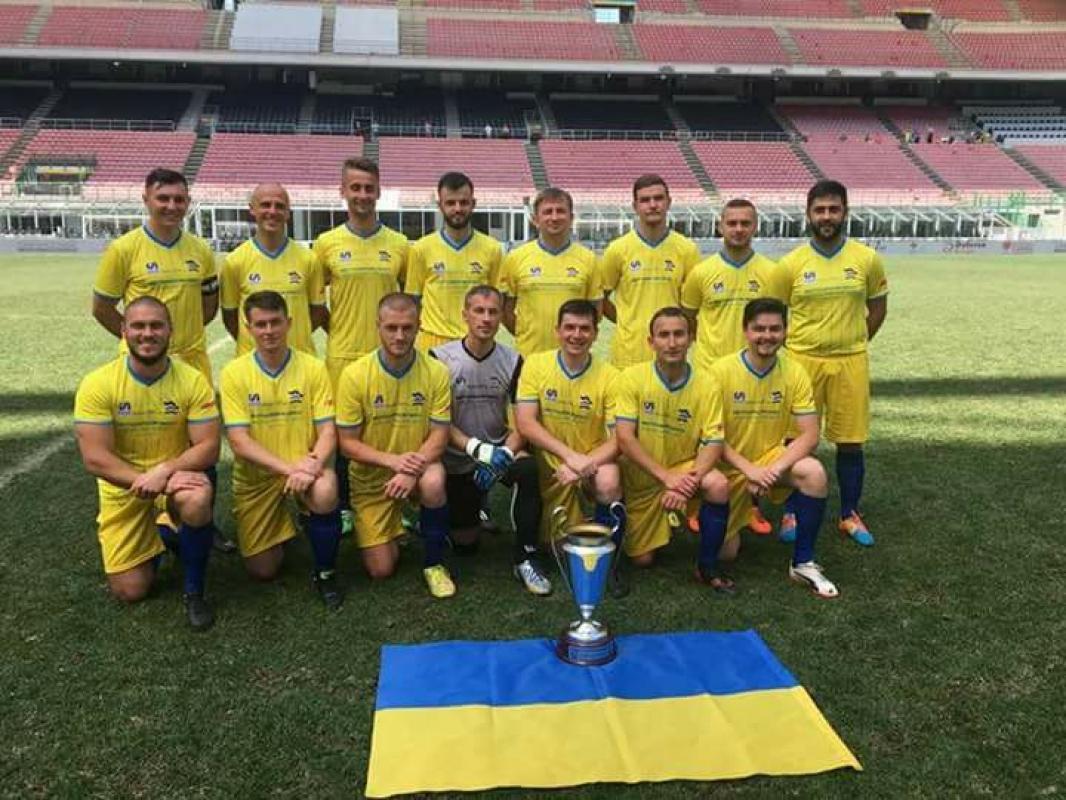 За 1-2 місце змагалися команди Хорватія-Україна / rkc.lviv.ua
