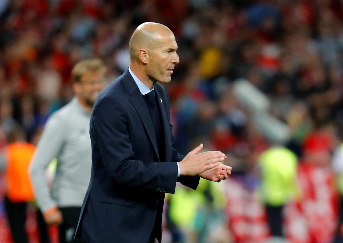 Зинедин Зидан внезапно ушел с поста тренера Реала/ REUTERS