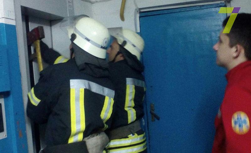 В Одессе провалился в шахту лифт с пассажирами / 7kanal.com.ua