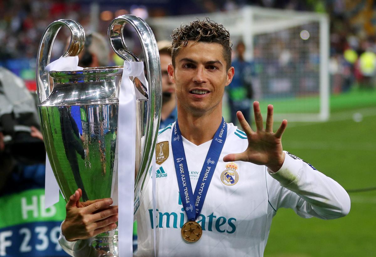 Криштиану Роналду установил рекорд Лиги чемпионов / REUTERS