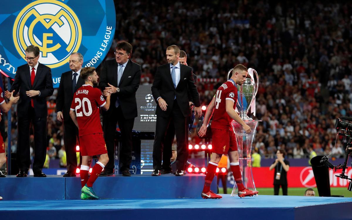 Александр Чеферин высоко оценил проведение финала Лиги чемпионов в Киеве / REUTERS