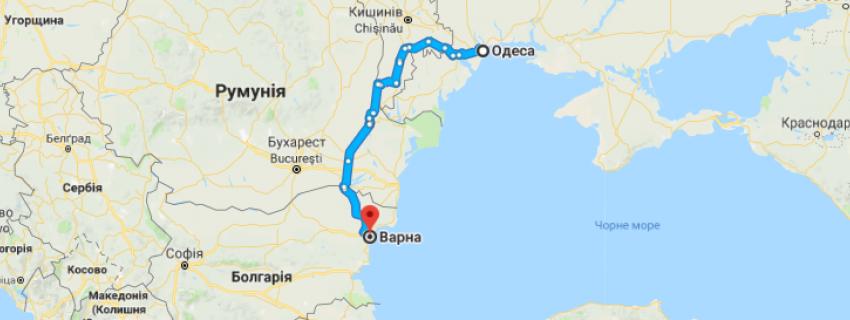 Будівництво дороги планують по транспортному коридору між Одеською областю, Рені і Варною через територію Румунії