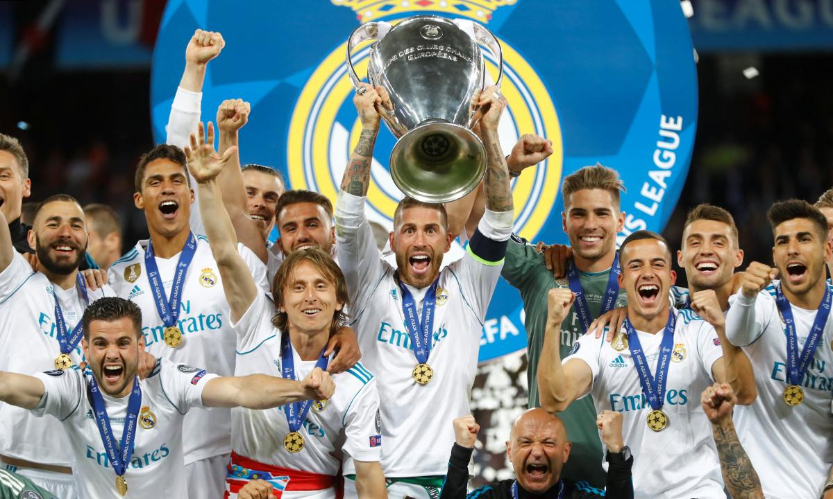 """Мадридский """"Реал"""" является лучшим клубом Европы в официальном рейтинге УЕФА / REUTERS"""