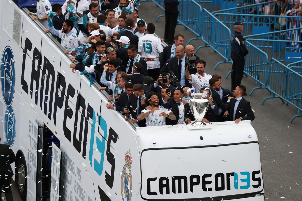 """""""Реал"""" святкує перемогу в Лізі чемпіонів / REUTERS"""