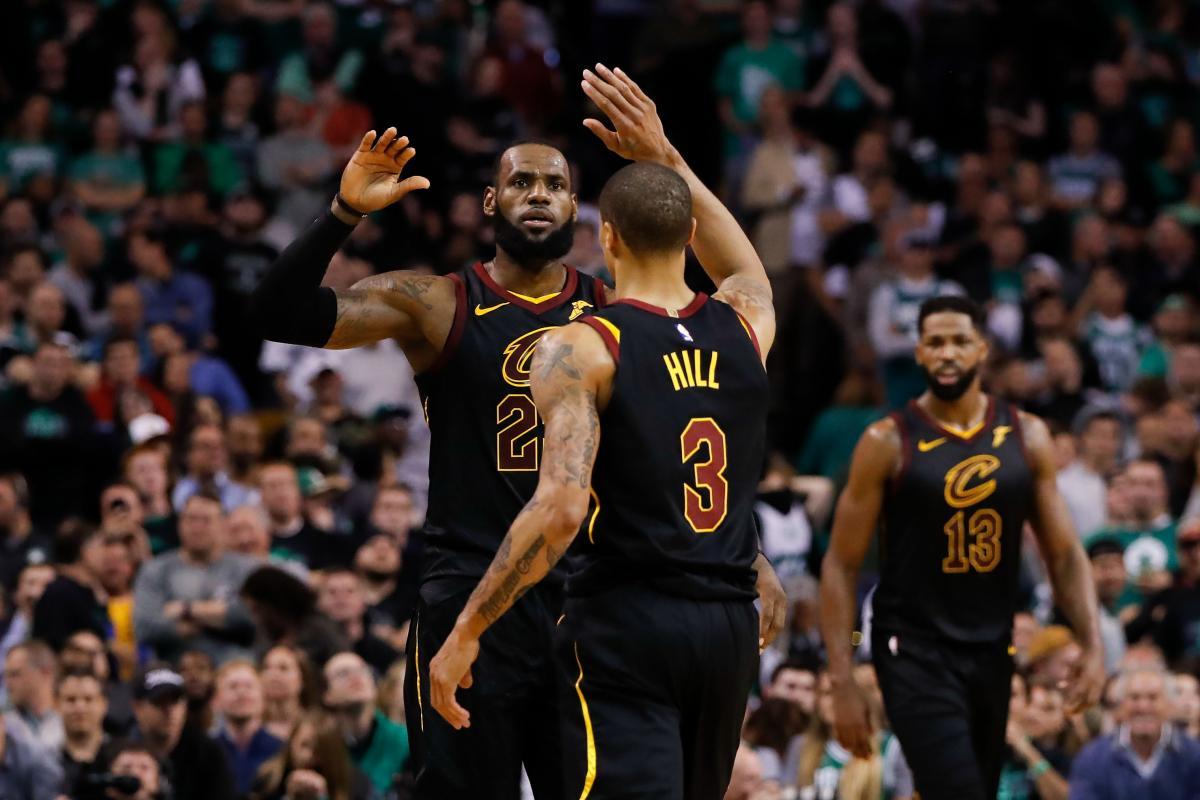 Игроки Кливленда дошли до финала НБА сезона 2017/18 / Reuters