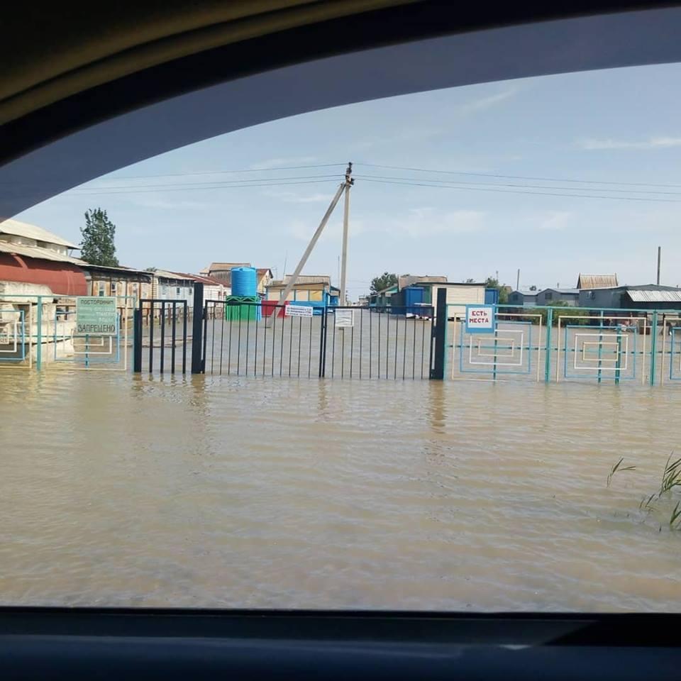 У Кирилівці затопило половину баз відпочинку / фото facebook.com/taraban.zpr