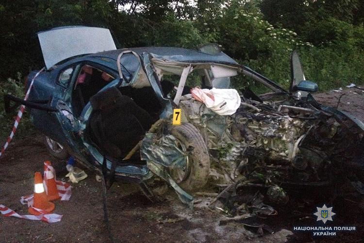 В результате ДТП на Тернопольщине погибли два человека / фото tp.npu.gov.ua