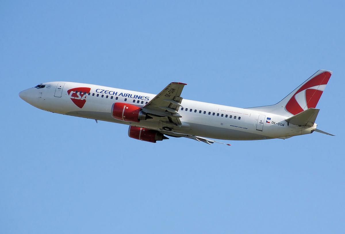 Чеська авіакомпанія відновила польоти Прага-Одеса-Прага / фото wikipedia.org