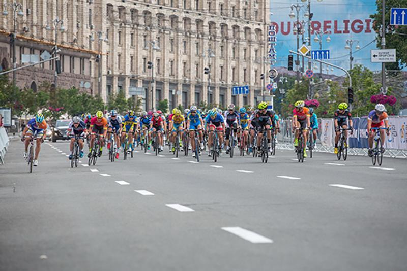 В рамках київської міжнародної велогонки відбудуться заїзди любителів / racehorizonpark.com