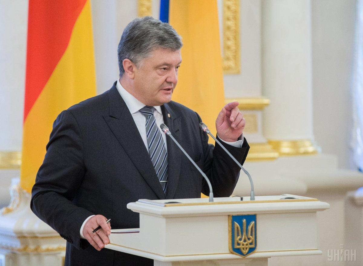 """Порошенко заявил, что """"ключ от мира"""" в Украине находится в Кремле / фото УНИАН"""