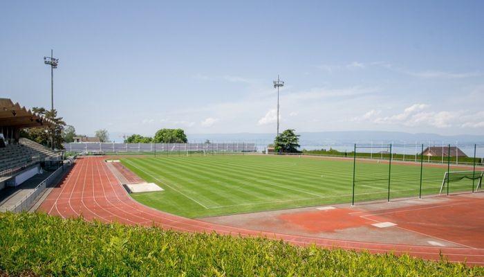 Стадіон в Евіані не придатний для ігор національних збірних / sportarena.com