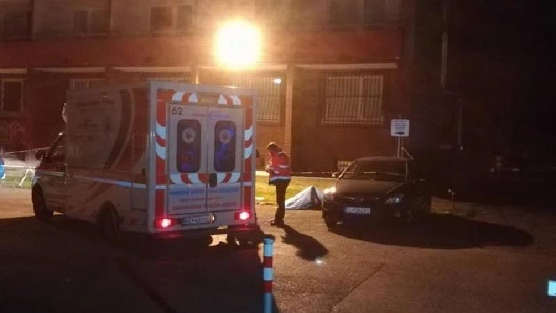 Студентка выпала с балкона восьмого этажа общежития / Фото tvnoviny.sk