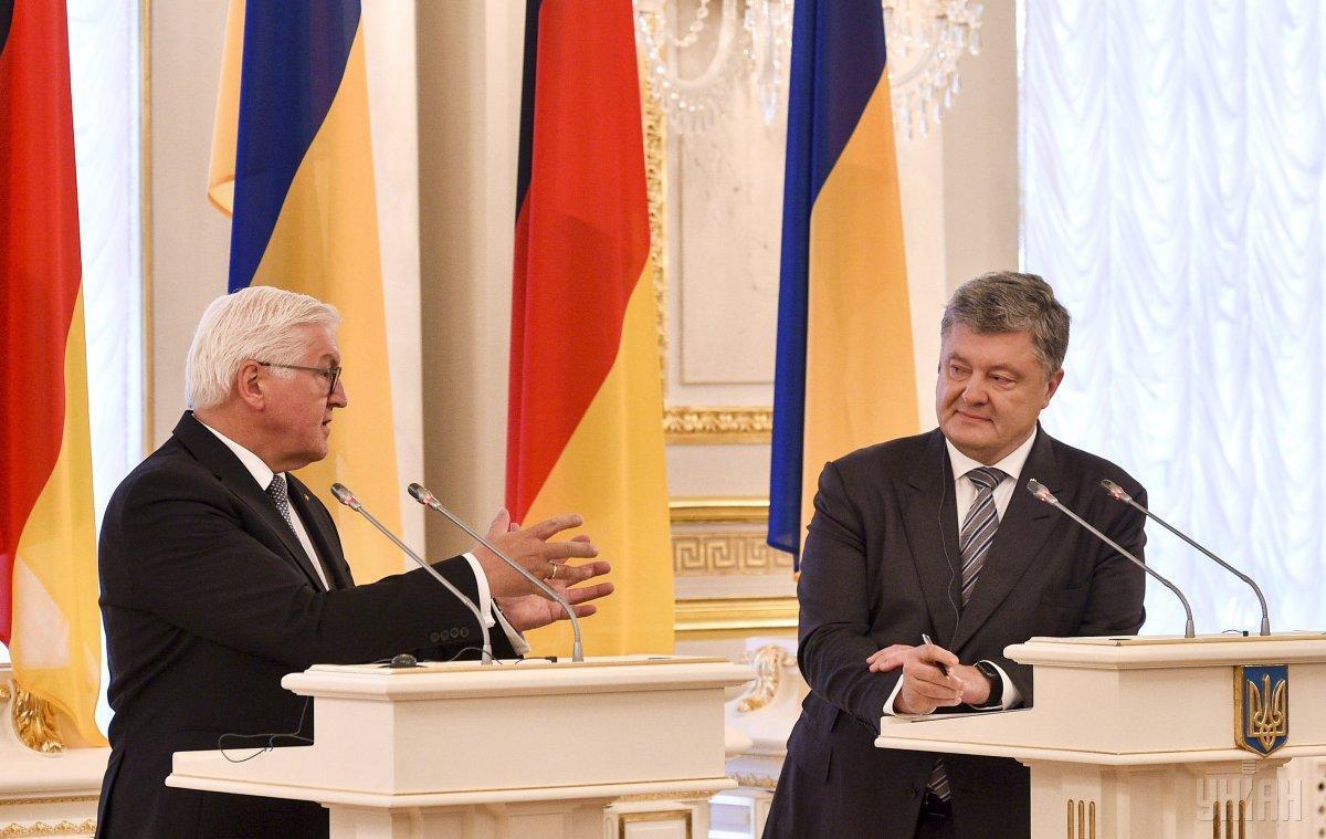 Штайнмайер заявил о росте интереса немецкого бизнеса к Украине / фото УНИАН