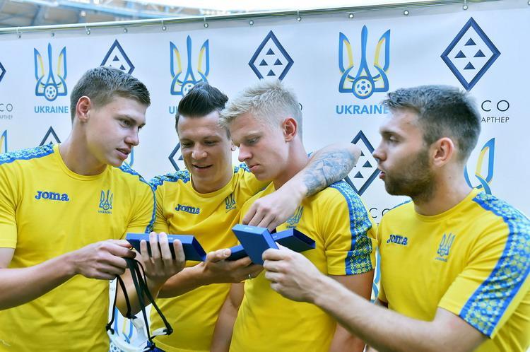 Национальная сборная Украины готовится к товарищескому матчу с Марокко / ffu.ua