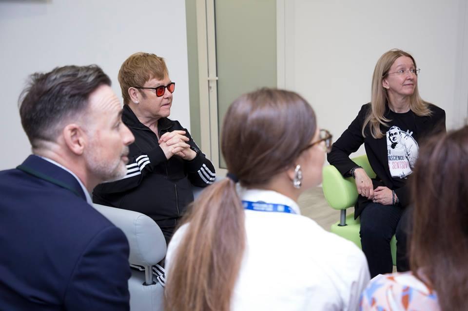 Уляна Супрун розповіла про зустріч з Елтоном Джоном / Facebook - Уляна Супрун