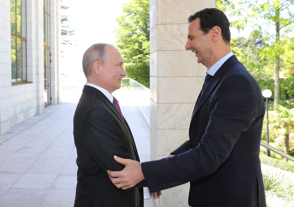 Володимир Путін і Башар Асад / REUTERS