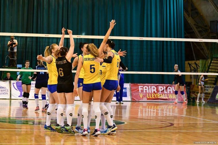 Сборная Украины продолжит борьбу за попадание в Финал четырех / fvu.in.ua