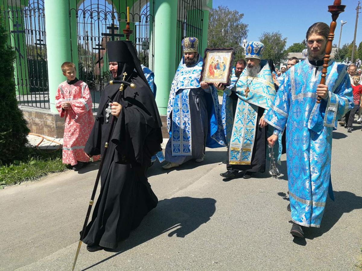 У Браїлівському монастирі відсвяткували річницю повернення у обитель чудотворної ікони / orthodox.vinnica.ua
