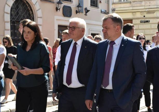 Президент Німеччини ознайомився з історичними пам'ятками Львівщини / loda.gov.ua