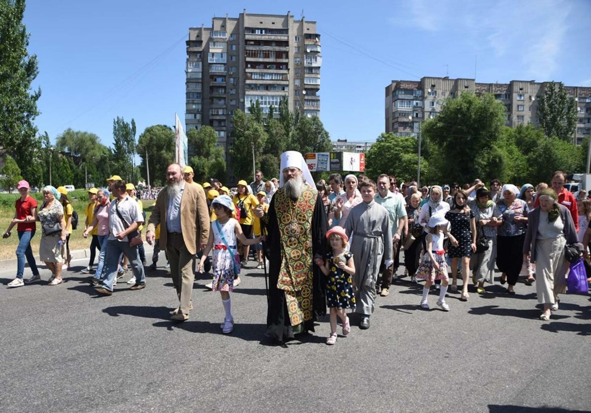Детский крестный ход в Запорожье / hramzp.ua