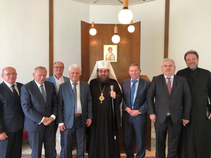 Встреча Предстоятеля Чешской Православной Церкви с экс-президентами Украины / news.church.ua