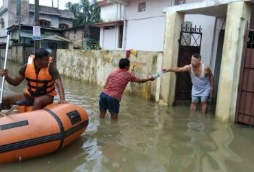 Жертвами наводнения в Индии стали 15 человек