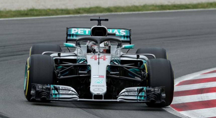 Хэмилтон выиграл квалификацию Гран-при Франции Формулы-1