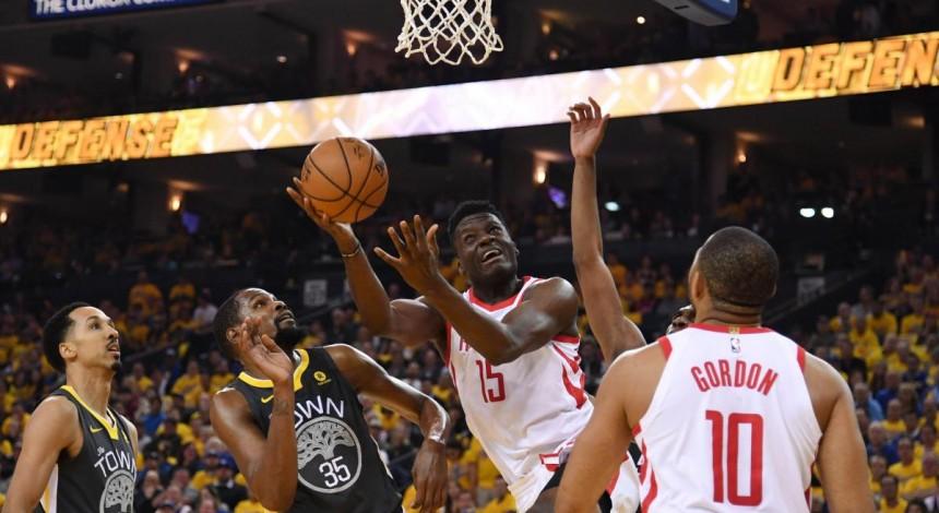 """""""Х'юстон"""" обіграв """"Голден Стейт"""" і зрівняв рахунок у півфінальній серії НБА"""