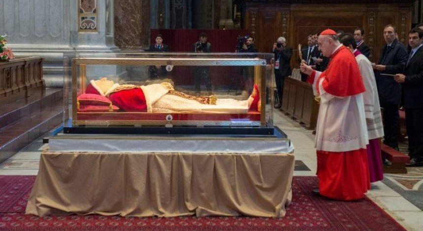 Началось паломничество мощей святого Папы Иоанна ХХІІІ на его малую родину
