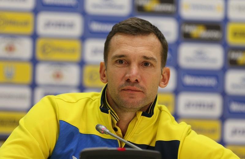 Андрей Шевечнко доволен командными действиями игроков сборной Украины в матче против Марокко / ffu.ua
