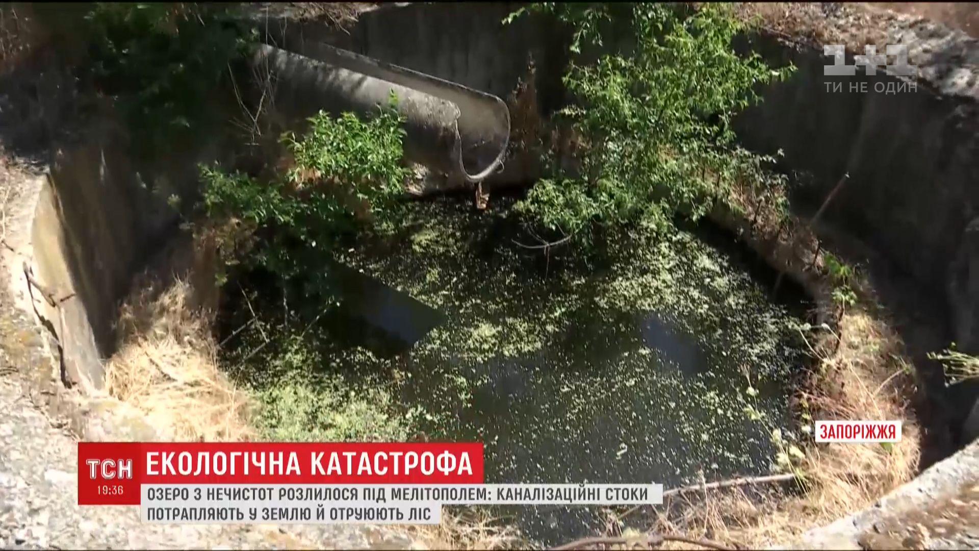 Озеро изнечистот приблизилось кобъекту ЮНЕСКО вгосударстве Украина