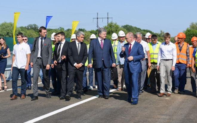 Существует несколько возможных мест для постройки моста через Дунай / фото president.gov.ua