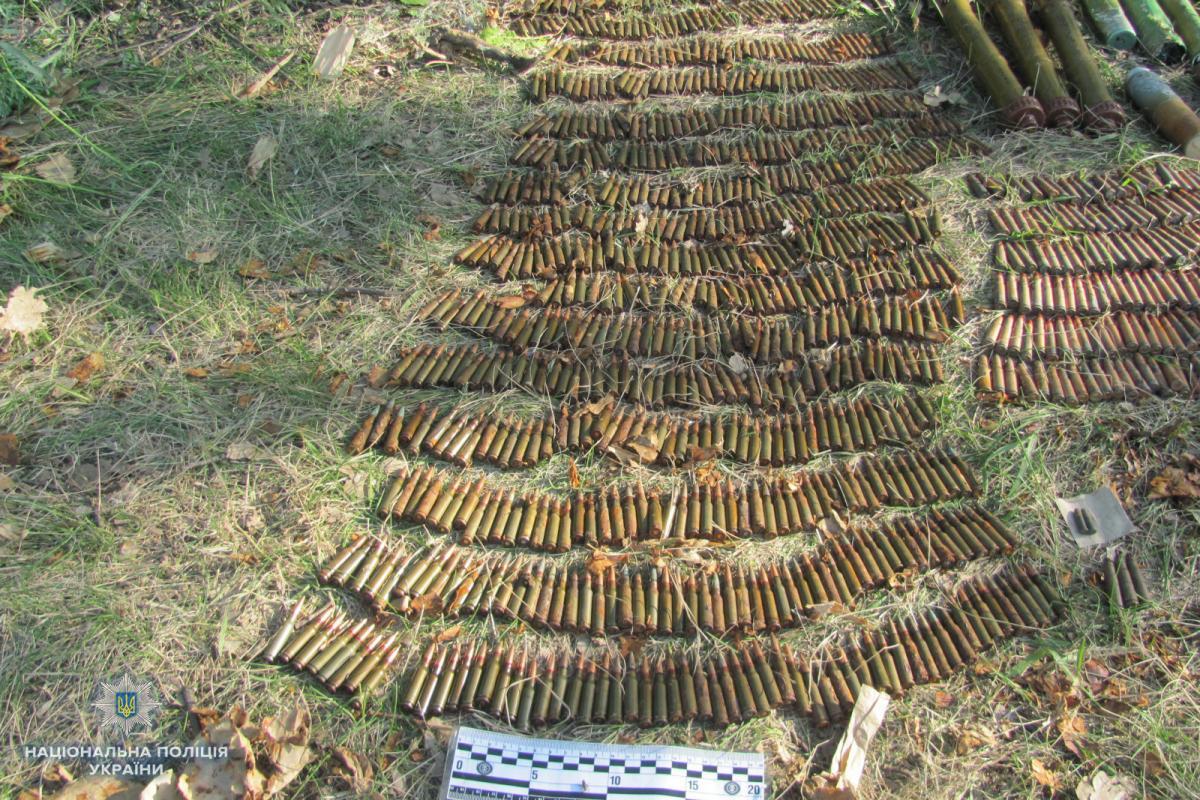 У схроні зброї на Луганщині було понад 7 тисяч патронів / lg.npu.gov.ua