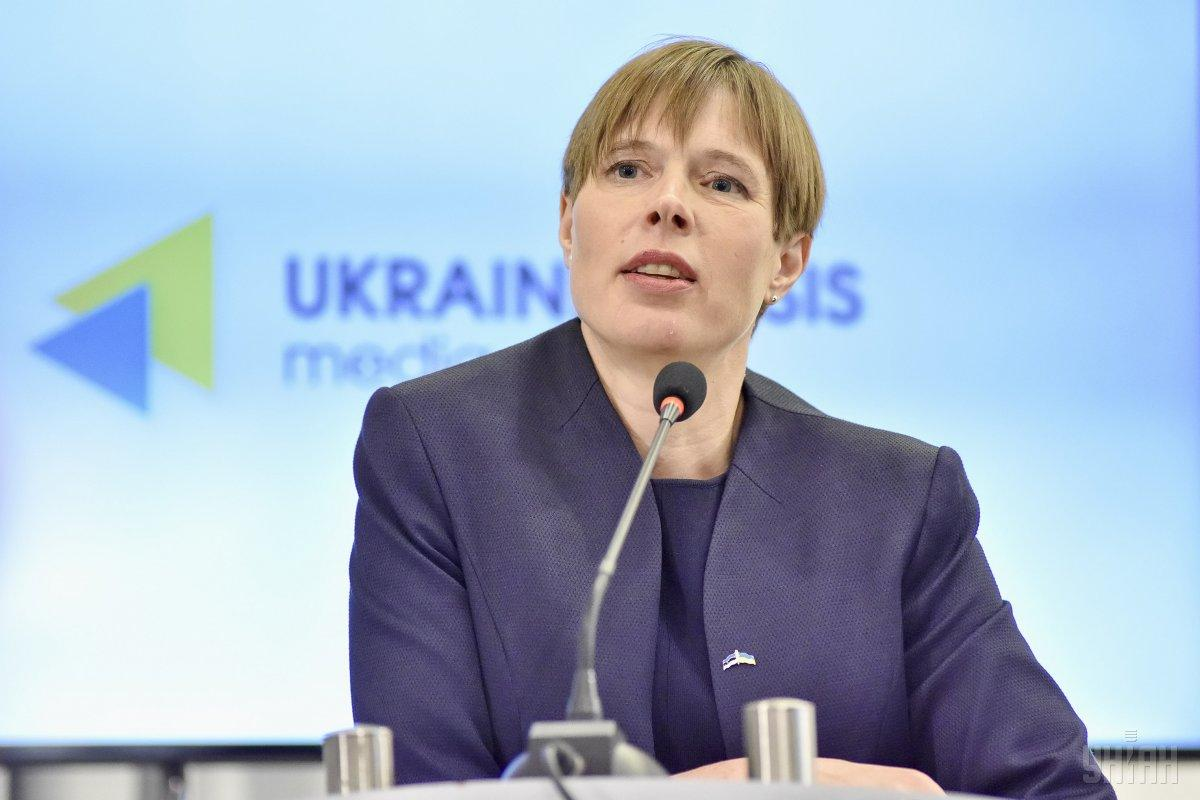 Estonian PresidentKersti Kaljulaid / Photo from UNIAN