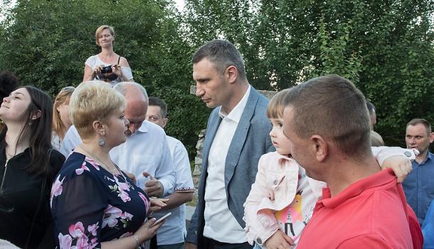 Кличко отметил, что столица продолжает получать слова благодарности \ kiev.klichko.org