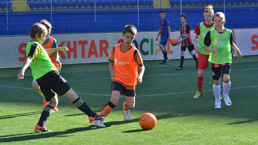 Детский турнир на ОСК Металлист стал первым в череде мероприятий ФК Шахтер / shakhtar.com