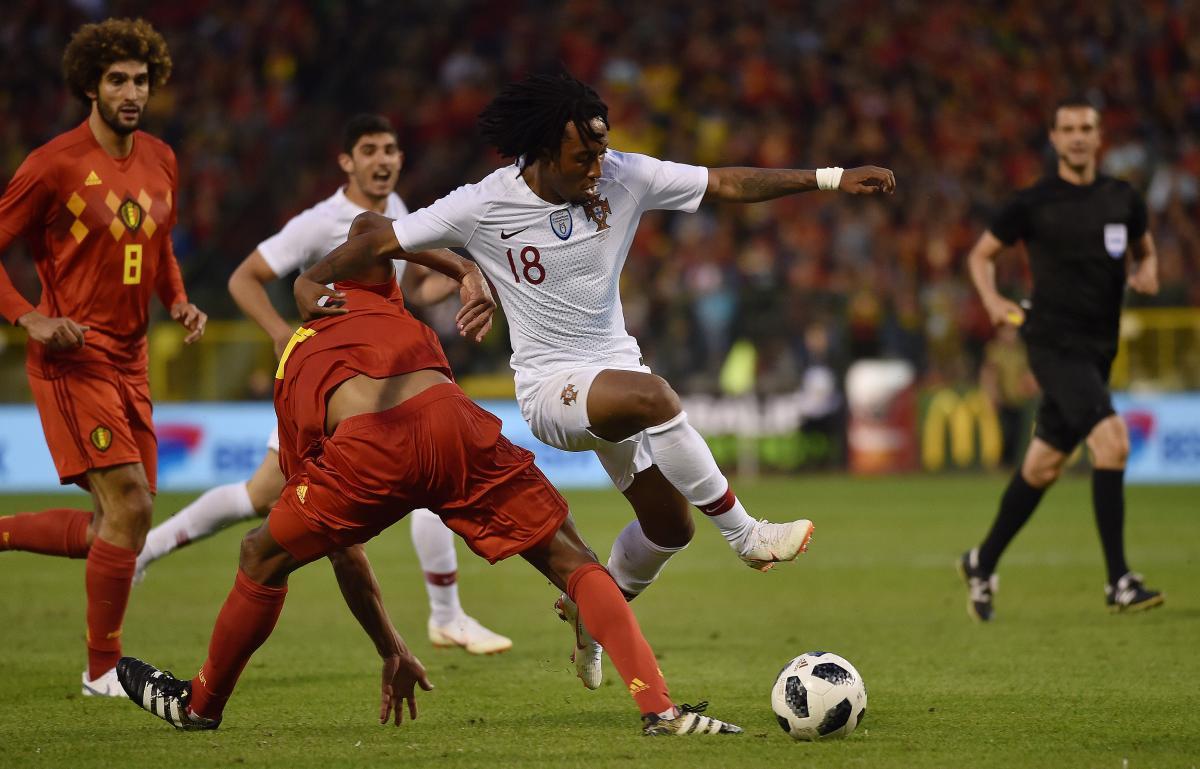 Сборные Бельгии и Португалии не забили друг другу голов в товарищеском матче накануне ЧМ / Reuters