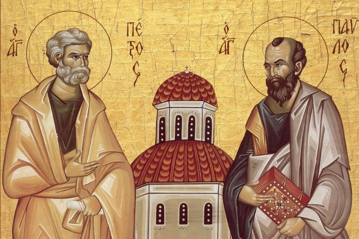 Икона святых апостолов Петра и Павла / фото из открытых источников