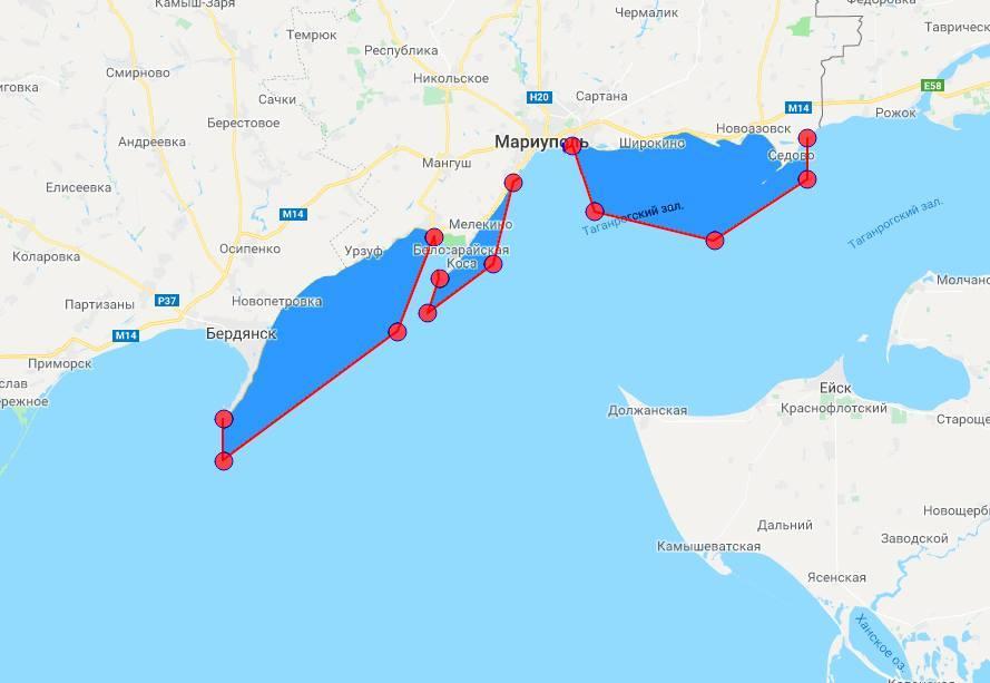 Три участка в Азовском море будут закрыты до 1 сентября / фото facebook.com/Andrii Klymenko