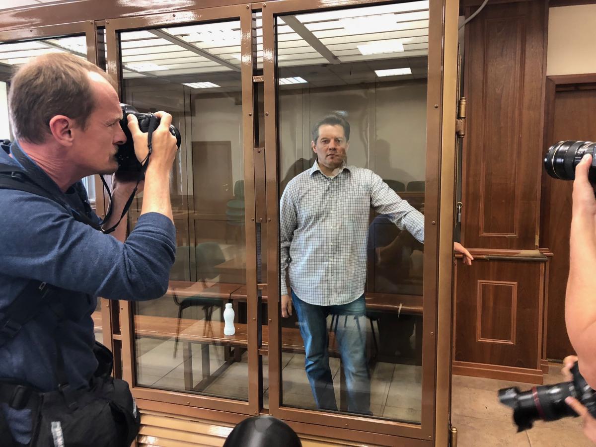 Сущенко наголосив, що перебуває у гарній фізичній та моральній формі \ фото Роман Цимбалюк